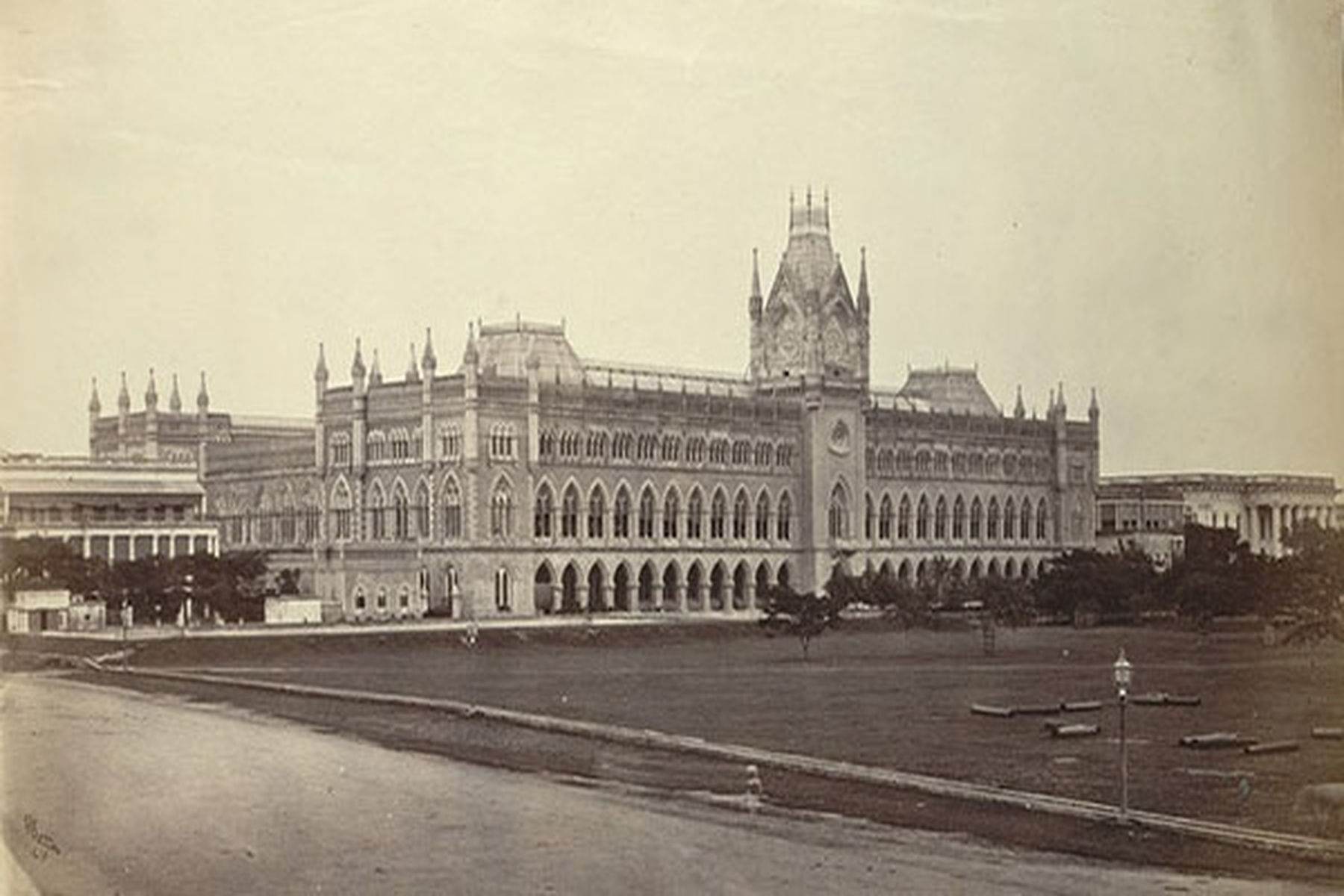 Calcutta High Court Main Building in 1945